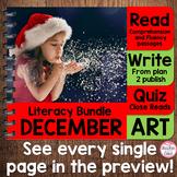 {Dec. Literacy} 4 Themed Units- Reading, Fluency, Writing,
