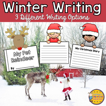 Winter Writing Reindeer and More