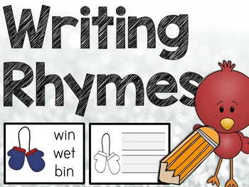 Winter: Writing Rhymes