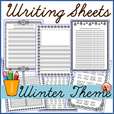 Winter Writing Sheets