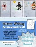 Winter Writing & Snow Suit Craft