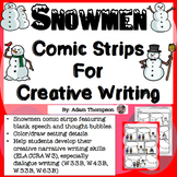 Winter Writing : Snowman Comic Strips