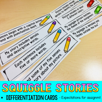 Winter Writing Squiggle Story Early Finisher