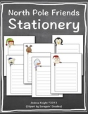 Winter Writing Stationery:  North Pole Friends