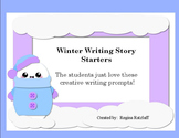 Winter Writing Story Prompts