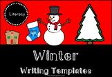 Winter Writing Templates