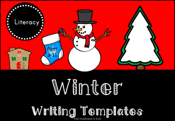 Winter Writing Templates