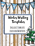 Winter Writing Templates (8 in 1)
