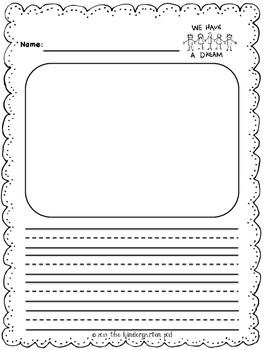 Winter Writing Templates - Kindergarten and Grade 1 by The ...