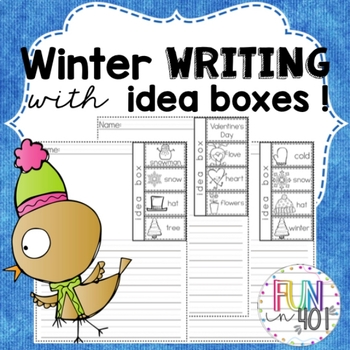 Winter Writing With Idea Boxes!