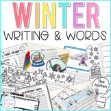Writing Activities and Word Work for Winter | Distance Learning
