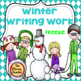 Winter Writing Work