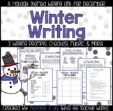 Winter Writing Workbook - A Christmas Themed Writing Booklet for December