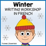 French Winter Writing Centers - Hiver en Français