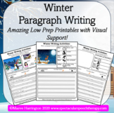 Winter Writing! Write Full Introduction Paragraphs Independently