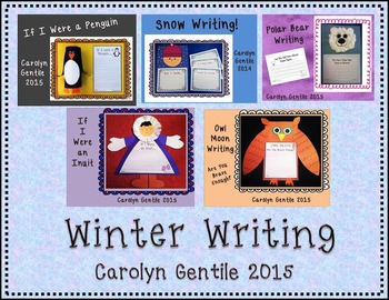 Winter Writing and Craft Activities