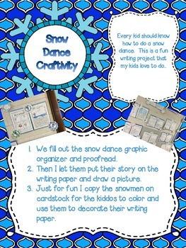 Winter Writing and Literacy Pack