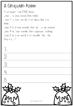 Winter Writing and Poetry Pack