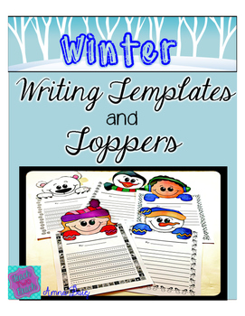 Winter Writing and Page Toppers