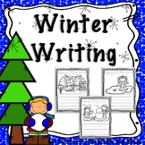 Winter Writing for Kindergarten or First Grade