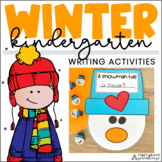 Winter Writing Activities Kindergarten   Winter Writing Prompts