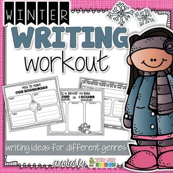Winter Writing - hot chocolate, snowmen and winter fun