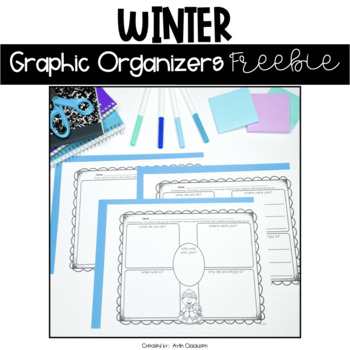 Winter Graphic Organizers {Freebie}