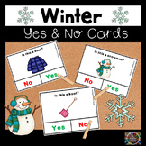 Winter Yes and No Question Cards