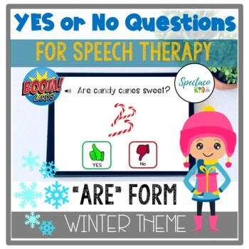 Winter Yes and No Questions are form Basic Concepts for Speech therapy BOOM