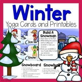 Winter Yoga Cards and Printables