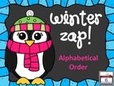 Winter ZAP! Alphabetical Order