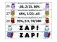 Winter ZAP! Fractions, Decimals, and Percents