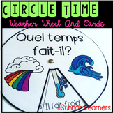 French Winter and Basic Weather Wheels & Cards!