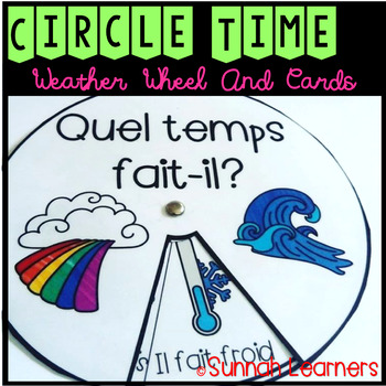 (Back To School Discount) French Winter and Basic Weather Wheels & Cards!