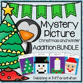 Christmas and Winter Addition Mystery Picture BUNDLE