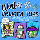 Winter and Christmas Reward Tags