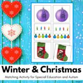 Winter and Christmas Activity for Special Education