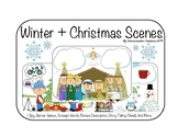Winter and Christmas Picture Scenes