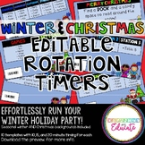 Winter and Christmas Rotation Timers