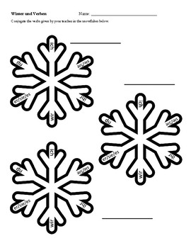 Winter and Christmas WORKSHEET and ACTIVITY Book in German