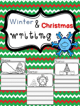 Winter and Christmas Writing- Picture Prompts