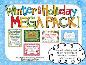 Winter and Holiday Mega-Pack!