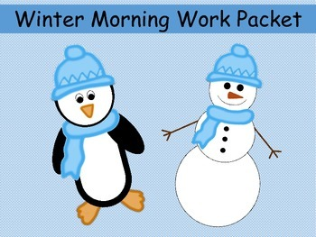 Winter and Holiday Worksheets