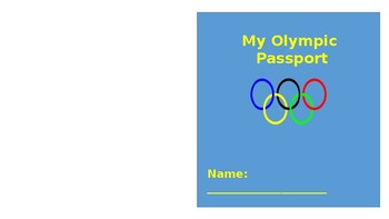 Winter and Summer Olympic Medals and Passport