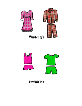 Winter and Summer PJ's
