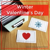 Winter and Valentine's Day - Speech and Language Photo Cards