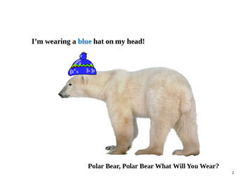 Polar Bear, Polar Bear What Will You Wear? - Winter/ arctic theme booklet