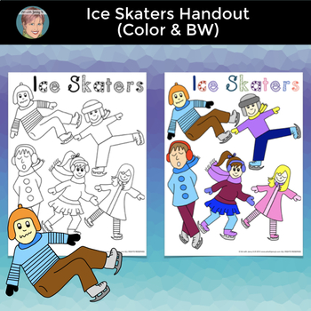 Great January Winter Activities: Ice Skater Reflections