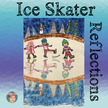 Great January Winter Activity: Ice Skater Reflections