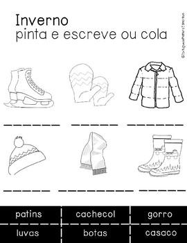Winter clothes - Roupas de Inverno